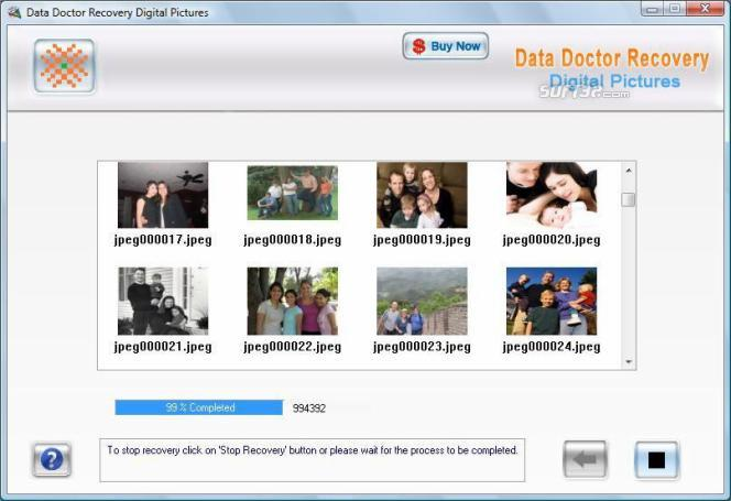 Digital Photo Rescue Software Screenshot 2