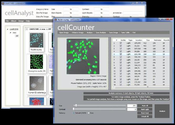 cellAnalyst from AssaySoft Screenshot