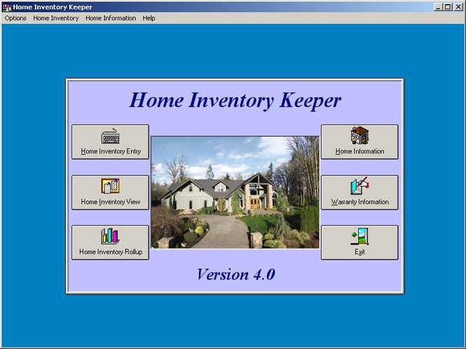 Home Inventory Keeper Screenshot