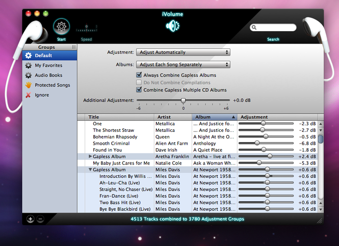 iVolume for Mac Screenshot
