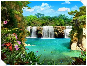 Living 3D Waterfalls Screenshot
