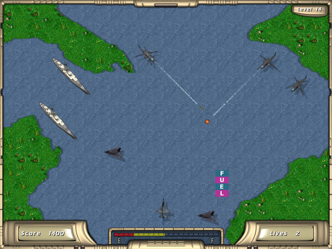 River Raider for Mac OS X Screenshot 1