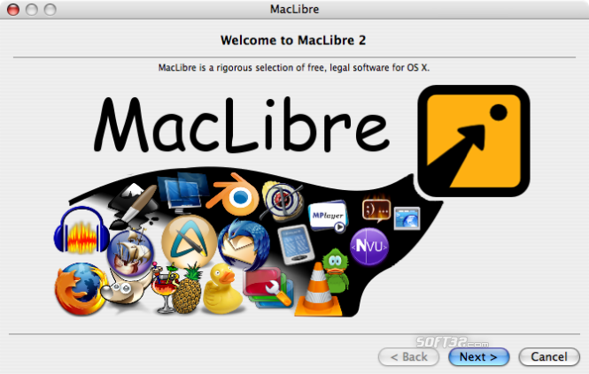 MacLibre Screenshot