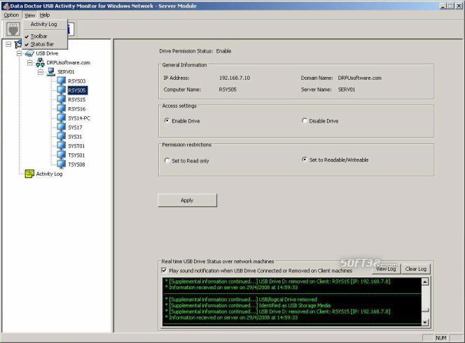 USB Data Leakage Protection Software Screenshot 3