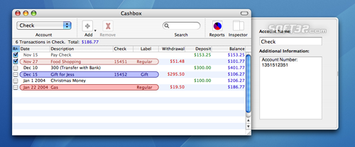 Cashbox Screenshot 2