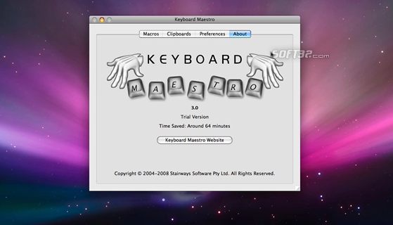 Keyboard Maestro Screenshot