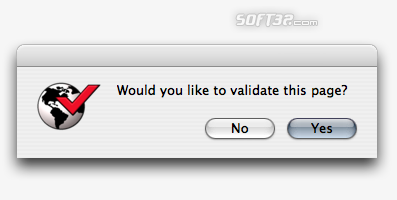 Safari Web Site Validator Screenshot