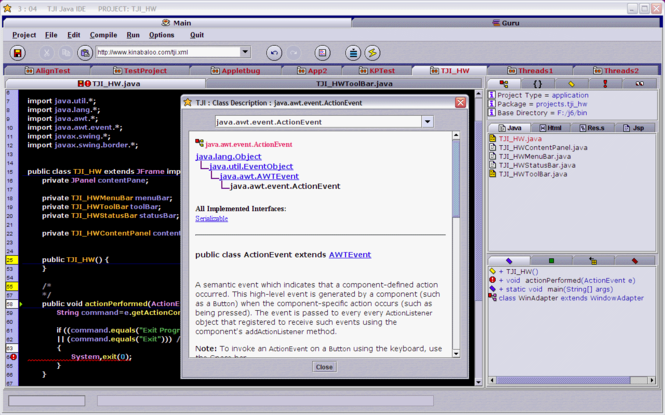 TJI Java IDE Screenshot