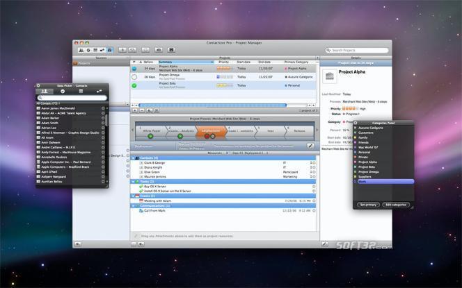 Contactizer Pro Screenshot