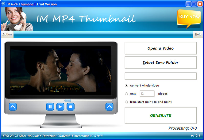IM MP4 Thumbnail Screenshot 1