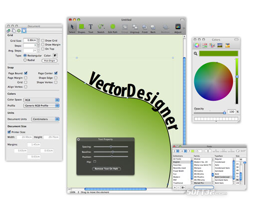 VectorDesigner Screenshot 1