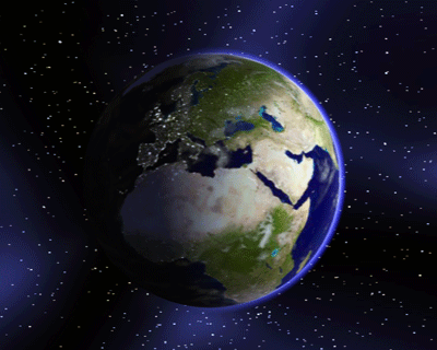 The Earth Screensaver Screenshot