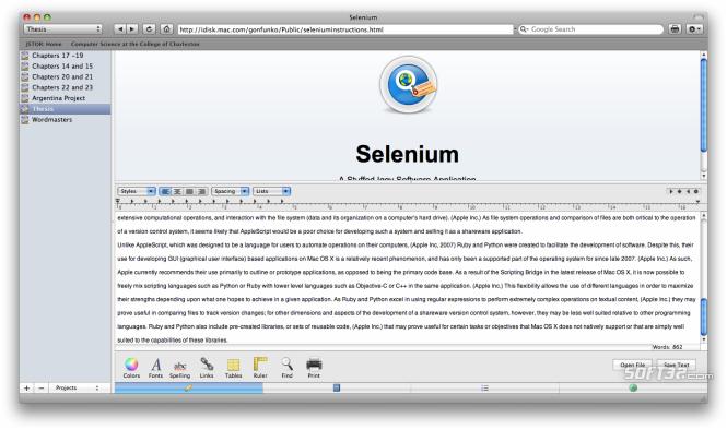 Selenium Screenshot 1