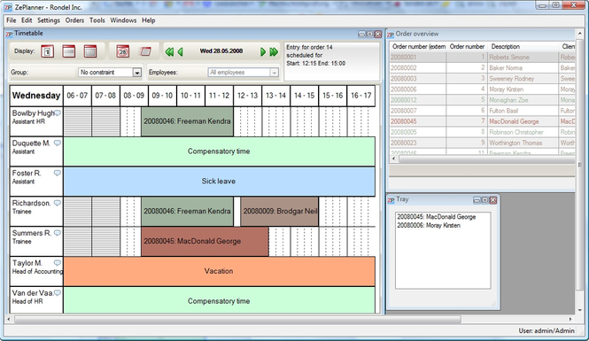 ZePlanner Screenshot 1