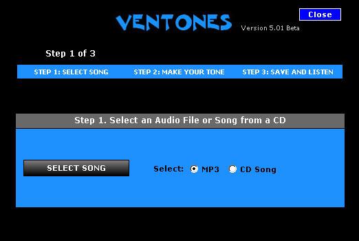 Ventones Free Ringtones Screenshot 1