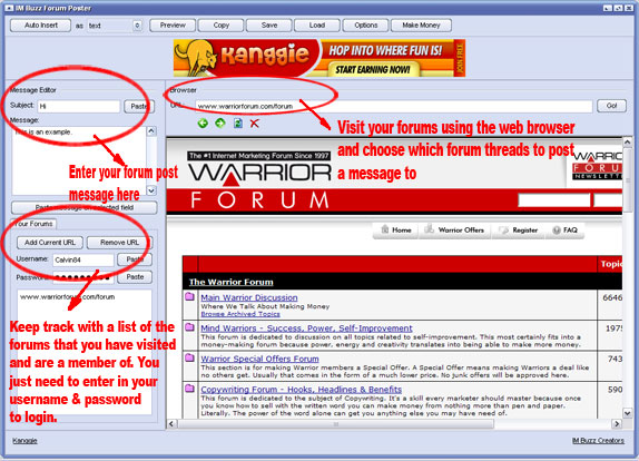 Forum Buzz Screenshot