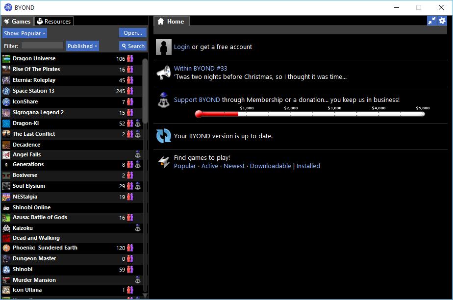 BYOND Screenshot 3