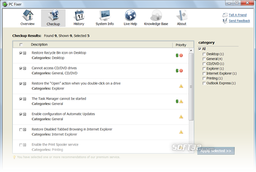 PC Fixer Screenshot 3