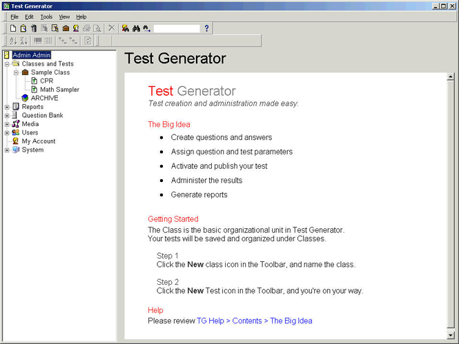 Test Generator Screenshot 1