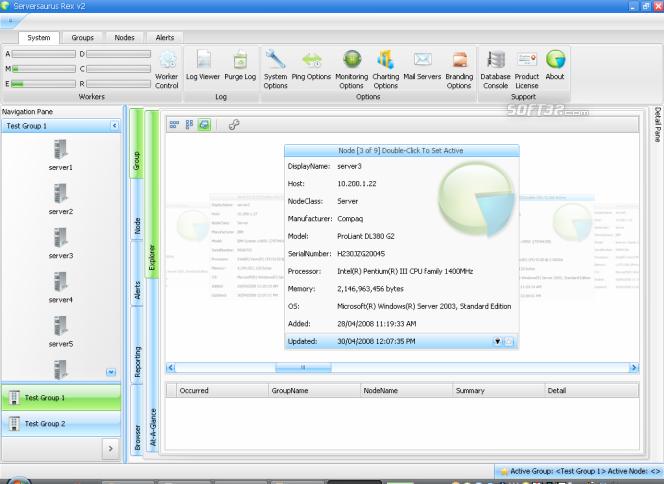 Serversaurus Rex Screenshot 1