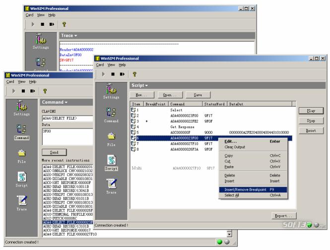 WinSIM Pro Screenshot 3
