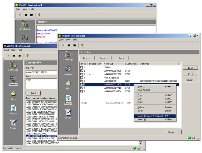WinSIM Pro Screenshot 1