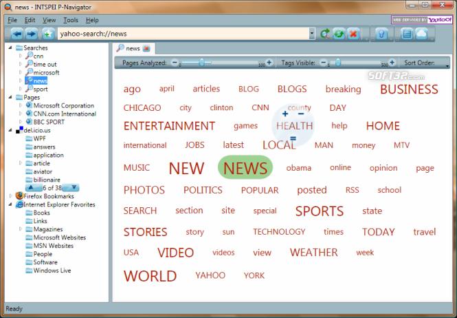INTSPEI P-Navigator Screenshot