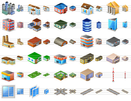 Perfect City Icons Screenshot 1