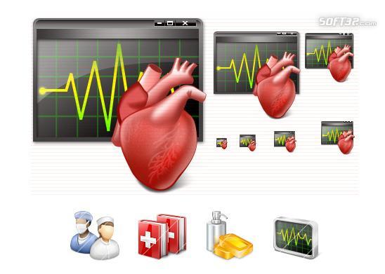 Vista Medical Icons Screenshot 3