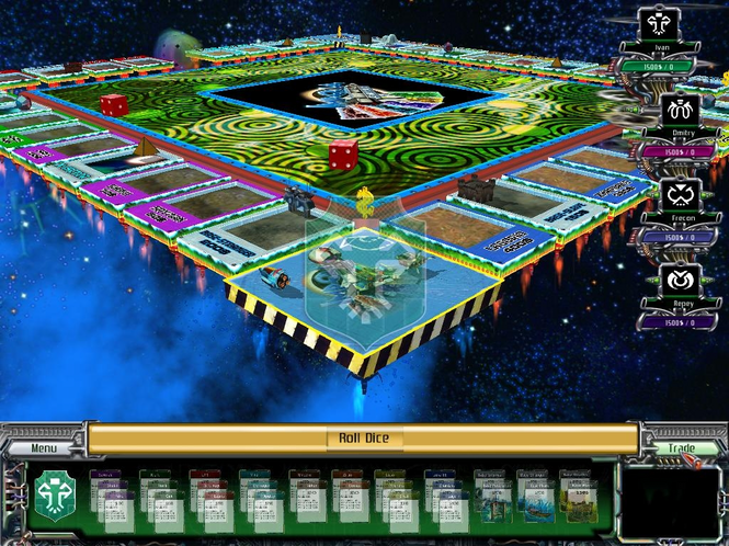 Monopoly Galactic Imperia Screenshot