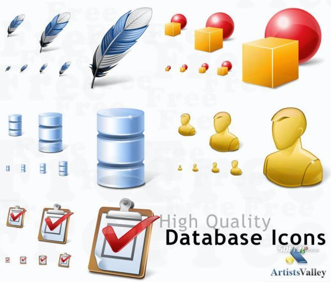 Database Application Icons Screenshot 3