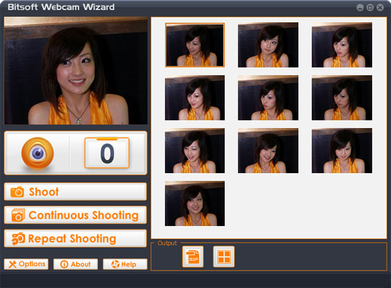 Bitsoft Webcam Wizard Screenshot