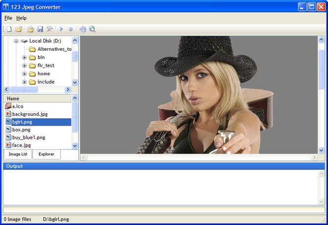 123 Jpeg Converter Screenshot 1