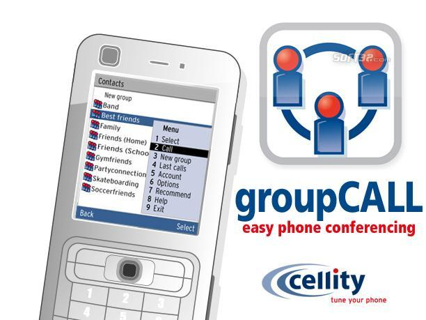 cellity groupCALL Screenshot