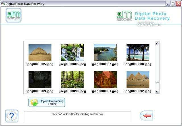 Picture Recovery Software Screenshot 3