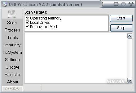 USB Virus Scan Screenshot 3