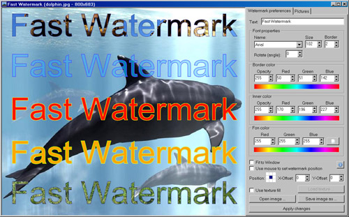 Fast Watermark Screenshot
