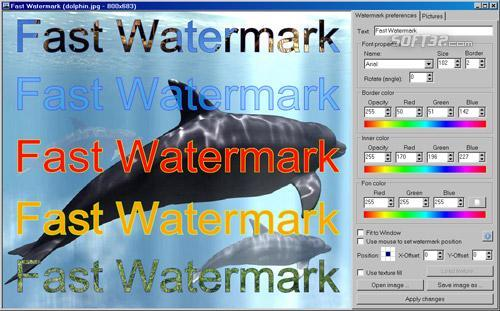 Fast Watermark Screenshot 3