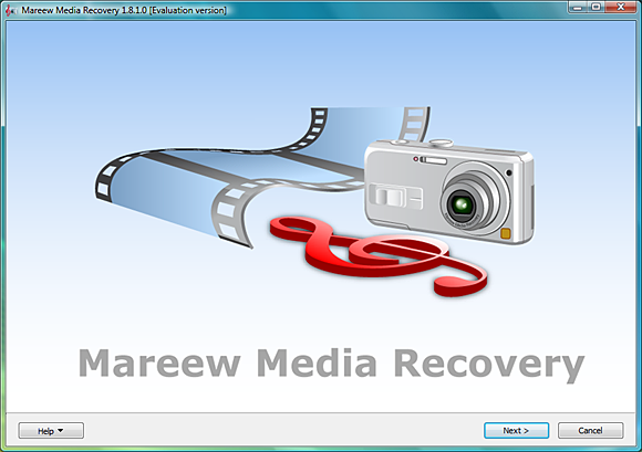 Mareew Media Recovery Screenshot