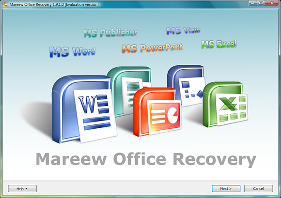 Mareew Office Recovery Screenshot