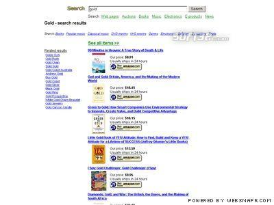 Profitable Adsense Search Portal Screenshot 1
