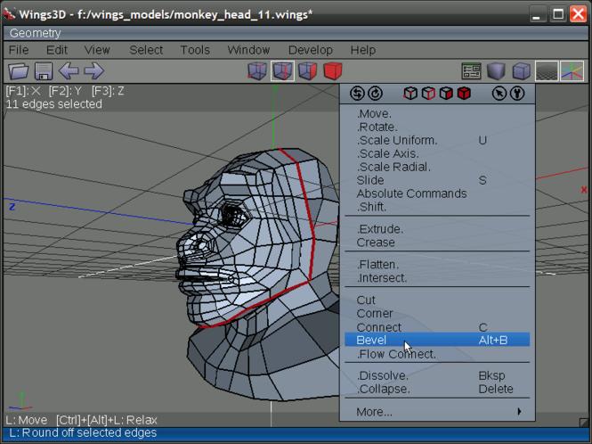 Wings 3D Screenshot 2