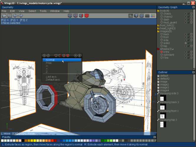Wings 3D Screenshot 3