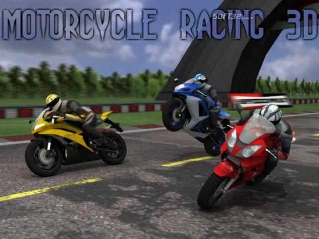 Motorcycle Racing 3D Screenshot