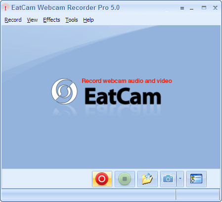EatCam Webcam Recorder Pro Screenshot