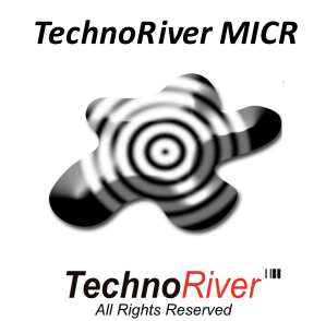TechnoRiver MICR Font Screenshot