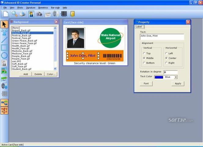 Advanced ID Creator Personal Screenshot 3
