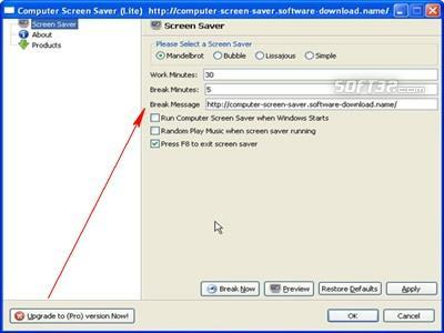 Computer Screen Saver Screenshot 2
