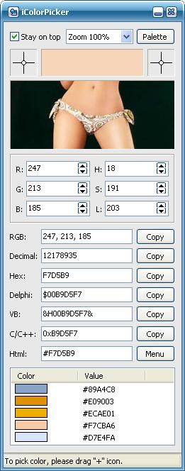 iColorPicker Screenshot
