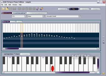 Midi Virtuoso Piano Edition Screenshot